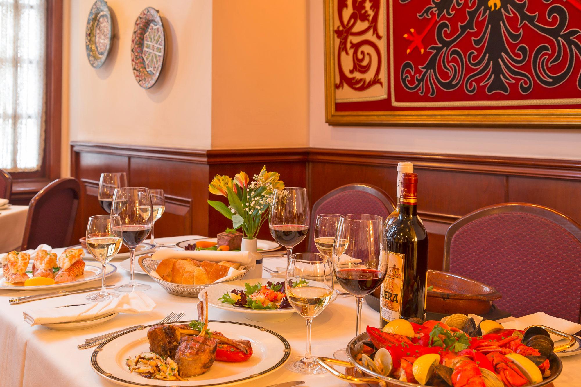 Toledo Restaurant Spanish Restaurants Nyc Toledo Restaurant